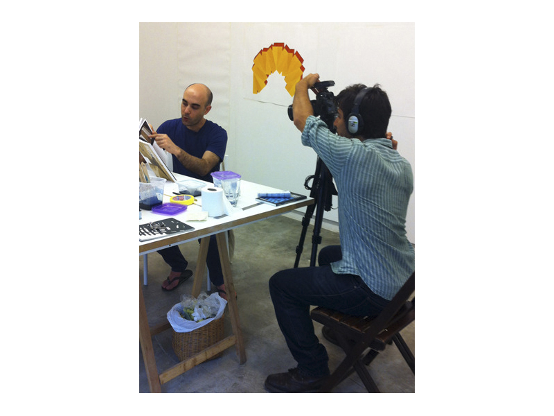<p>Art residency with french artist Raphaël Zarka.</p>